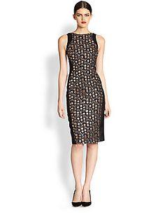 Antonio Berardi Gem-Front Sleeveless Dress worn by Victoria on Victoria Grayson, Revenge Fashion, Antonio Berardi, Dresses For Work, Formal Dresses, Saks Fifth Avenue, Gems, My Style, Womens Fashion