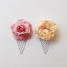 strawberry or vanilla? by spielkkind Flower Petals, Flower Art, Illustrator, How To Preserve Flowers, Everyday Objects, Amazing Flowers, Cool Art, Art Projects, Illustration Art