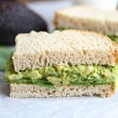 smashed chickpea amp avocado salad sandwich this is a great dip with ...