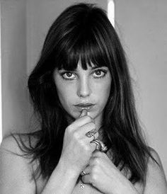 This particular photo of Jane Birkin reminds me of someone
