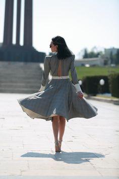 #dress #retro #retrostyle #style #romantic #fashion #outfit #outfitidea #outfitinspiration #highheels #fashion #streetstyle Waist Skirt, High Waisted Skirt, Romantic Fashion, Style Diary, Retro Fashion, High Heels, Street Style, Style Inspiration, My Style