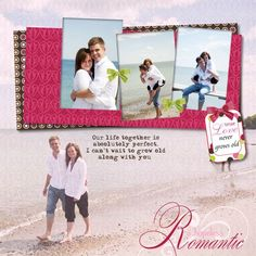 Hopeless Romantic Once Upon A Time Digital Layout from Creative Memories