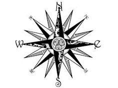 Resultado de imagem para rosa dos ventos tattoo maori