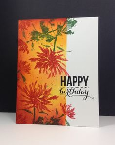 IC544 One Layer Birthday - her inspiration was…