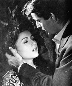 Dilip Kumar and Madhubala in Sagdil 1952.