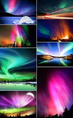 Beautiful Northern Lights, Around the World!