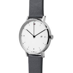 The PKG01 watch is the perfect timepiece for the modern day individual with a minimal yet functional sense of style. Now back in stock. #luxurywatches #design #minimal #functional
