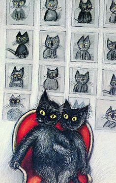 By Józef Wilkon, Rosalind das Katzenkind.