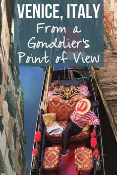 Do we take that gondola ride? Pondering the authenticity of that touristy boat ride with the gondolier around Venice, Italy. cleverdeverwherev...