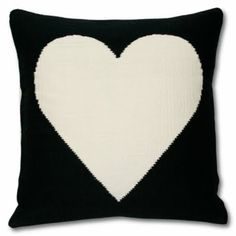 Jonathan Adler Peace/Love reversible pillow.