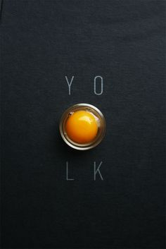 """Move over egg whites. In 2014, the yolk will come out of it's shell. Sterling-Rice Group's """"Cutting Edge Dining Trends 2014."""" Image by Michelle Min of Touch. Taste. Design."""