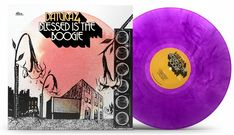 "BACK IN STOCK! DATURA4 ""Blessed is the Boogie"" on CLEAR PURPLE VINYL 