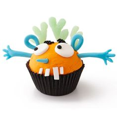 Grusel Muffins backen halloween nachtisch cupcakes kuchen deko