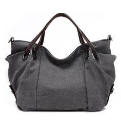 Fashion 2017 Canvas Tote Bag Casual Large Capacity Hobo Bag Vintage Shoulder Handbags Crossbody Bags for Women Bolsos Sac A Main