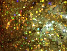 1 lb Gold Hexagon Bulk Glitter Solvent Resistant Nail Polish Indie Franken | eBay
