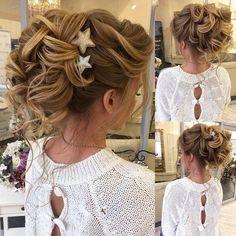 Bridal Hairstyles Inspiration : Long Wedding Hairstyles & Bridal Updos via Elstile / www.deerpearlflow
