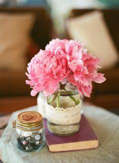 Pretty pink peonies.   Photography: Angga Permana Photo - www.anggapermanaphoto.com/
