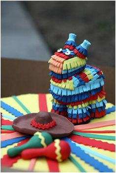 Pinata cake. Could be modified for a Latin baby shower