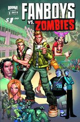 Fanboys Vs. Zombies #1 4/2/2012  Boom studios has put 2 of my favorite things together: zombies and SDCC
