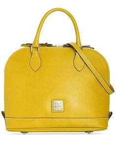 Dooney & Bourke Saffiano Zip Zip Satchel...stilll looking for my new day bag.