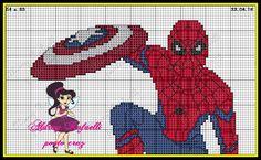 Spiderman pattern by Aldray Rafaelli