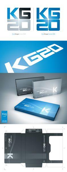 Krys Group #logo #identity #design #corporate #branding #packaging par Nicolas LEONARD #graphiste #graphistefreelance #illustrateur