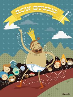 Ilustration 2012 by Pepe Rodríguez, via Behance
