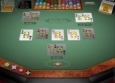 I free-to-play spillet Triple Pocket Hold'em, fra skaperne av Microgaming, spiller du mot to forhandlere. http://www.norske-spilleautomater-gratis.net/norske-spilleautomater/triple-pocket-holdem-online-slotmaskiner #norskespilleautomatergratis #triplepocketholdem #slotmaskineronline