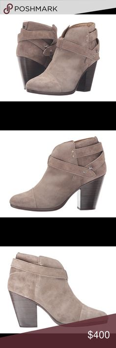Brand new rag and bone bootie. . They are brand new and super comfortable. They look great with jeans and with dress!! Color is warm grey suede rag & bone Shoes Ankle Boots & Booties