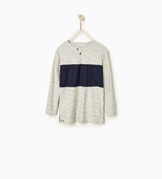 Image 1 of Seamed top from Zara