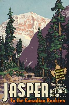 Another great vintage Alberta poster.