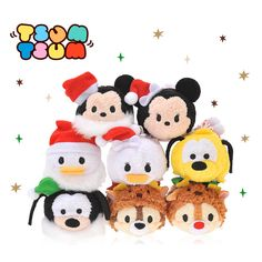 【Tsum Tsum 聖誕版】 Tsum Tsum 都著上聖誕裝,仲有兩款唔同,好可愛! #xmas #聖誕 #聖誕禮物 #tsumtsum #日韓小店 #日本 #disney