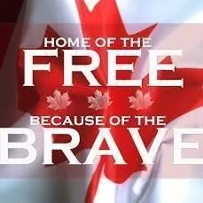 Canada Home of the free because of the brave! Canadian Things, I Am Canadian, Canadian History, All About Canada, Free Friday, Canada Eh, Remembrance Day, Lest We Forget, True North
