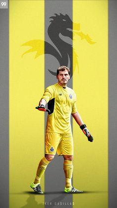Santiago Bernabeu, Sports Graphic Design, Fc Porto, Sports Graphics, Soccer Stars, Goalkeeper, Football Team, Real Madrid, Photoshop