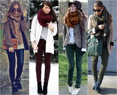 Como se vestir nos dias de frio intenso! Dicas pra montar looks práticos e elegantes. 05