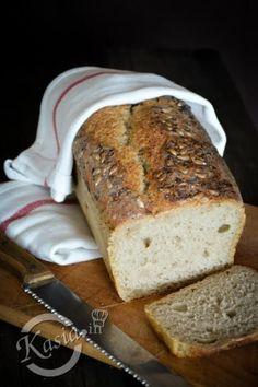 łatwy chleb na zakwasie bez wyrabiania Pan Bread, Bread Baking, Bread Recipes, Cooking Recipes, Cheese Lover, Polish Recipes, Mexican Food Recipes, Banana Bread, Food To Make