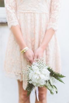 Photography : Paper Antler | Wedding Dress : Mikaella Bridal | Floral Design : Valerie Anns Florist Read More on SMP: http://www.stylemepretty.com/destination-weddings/2015/06/08/romantic-tented-english-countryside-wedding/
