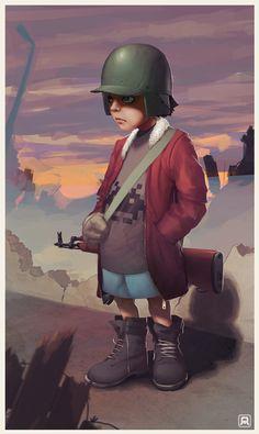 Character Designer – Illustrator – BadBlood aka MehdiAnnassi