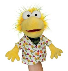 Black Friday 2014 Fraggle Rock Hand Puppet Wembley from Manhattan Toy Cyber Monday. Black Friday specials on the season most-wanted Christmas gifts. Hand Puppets, Finger Puppets, Slime Toy, Rock Hand, For Elise, Fraggle Rock, Jim Henson, Special Characters, Imaginative Play