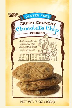 Trader Joe's Gluten Free Chocolate Chip Cookies...These are AWESOME!!!