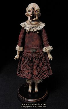 Sespia – Exquisite Monster Art Doll  by Shain Erin, via Flickr