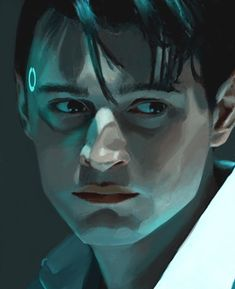 Detroit Being Human, Detroit Become Human Connor, Bryan Dechart, Quantic Dream, Art Reference Poses, Male Face, Face And Body, Game Art, Art Inspo