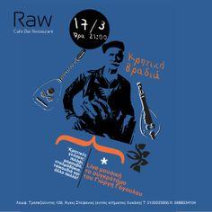 Event Promotion for RAW Cafe-Bar Thirdstep.gr