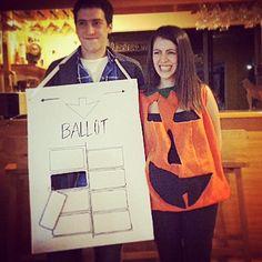 Slutty pumpkin costume