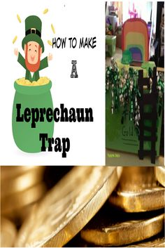 Enjoy our Leprechaun trap craft that is perfect for kids of all ages for St. Patrick's day.