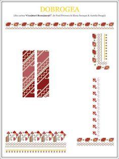 paulpetrescu&elenasecosan&aureliadoaga - ie DOBROGEA. Hama Beads, Beading Patterns, Pixel Art, Projects To Try, Blog, Cross Stitch, Tapestry, Costumes, Traditional