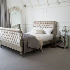 Sweetpea & Willow is an award winning French furniture boutique offering excellent value for French style and shabby chic furniture. Dream Bedroom, Home Bedroom, Bedroom Decor, Bedroom Ideas, Bedroom Lighting, Bedroom Inspiration, Peaceful Bedroom, Fantasy Bedroom, Interior Lighting