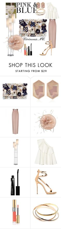 """Ceremony.special event. NC."" by noemicapozza ❤ liked on Polyvore featuring Accessorize, Nocturne, Jessica Choay, Solace, Givenchy, Giuseppe Zanotti, Yves Saint Laurent and Cartier"