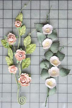 Hand Crafted Memories: Rose Vine Tutorial