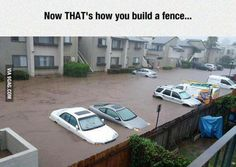 That's how you build a fence!